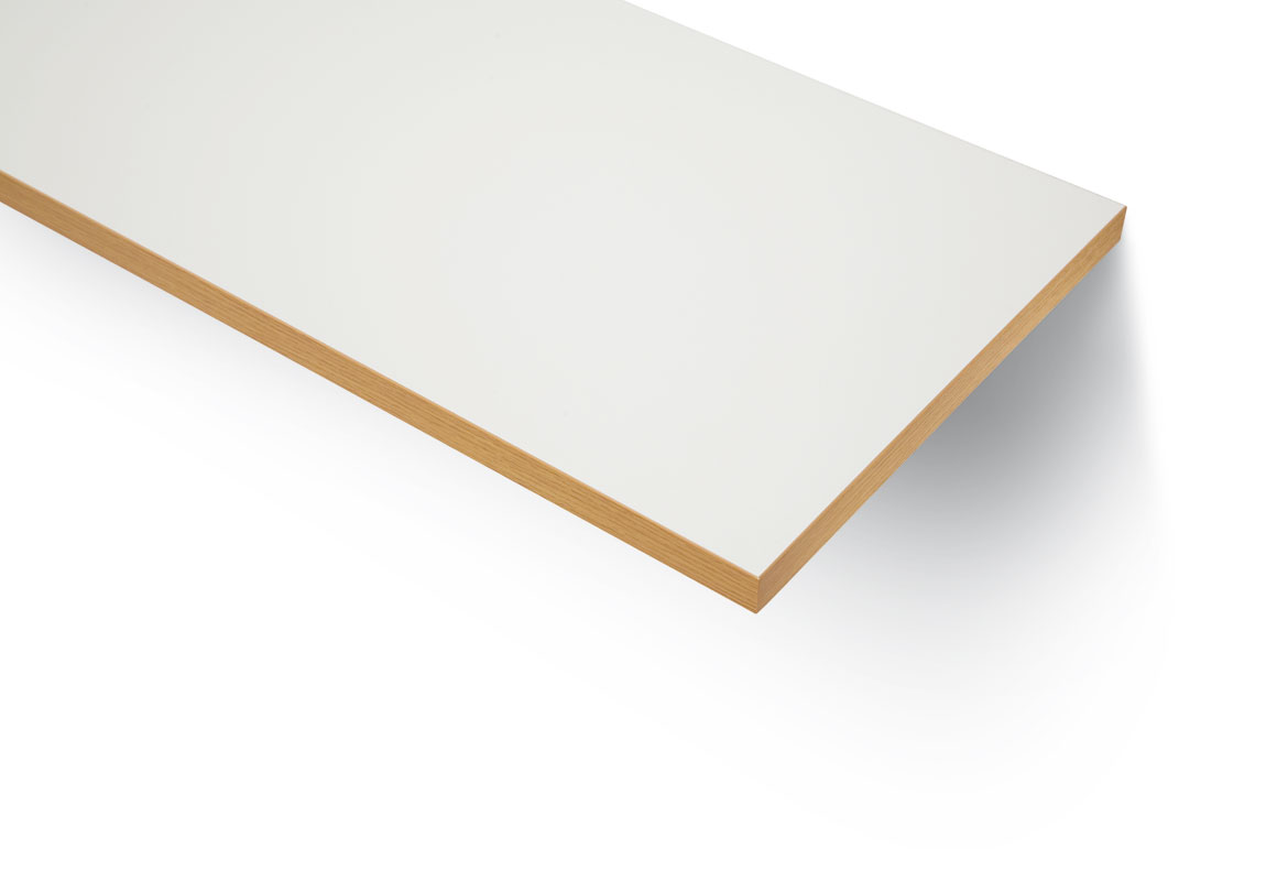 Plywood vit laminat